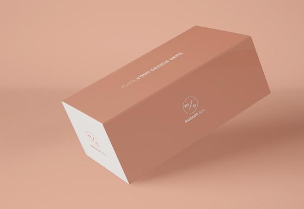 Maquette d'emballage de boîte