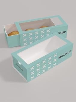 Maquette d'emballage de pain