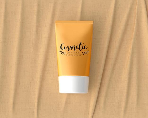 Maquette d'emballage de produit cosmétique
