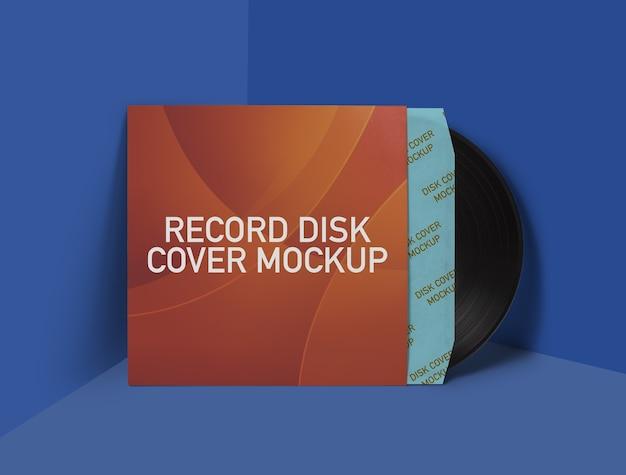 Maquette d'enregistrement de disque