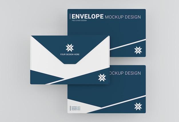 Maquette d'enveloppe commerciale