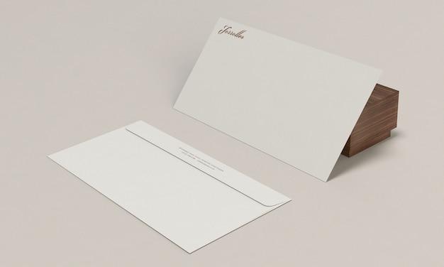 Maquette de l'enveloppe