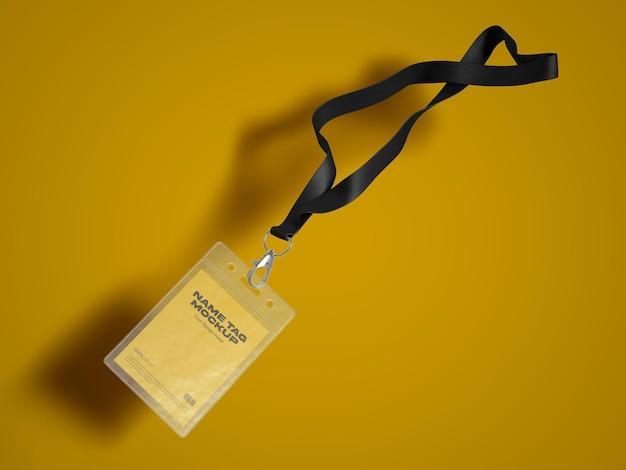 Maquette d'étiquette de nom 2