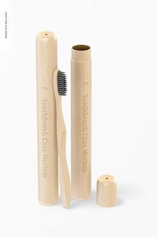 Maquette d'étuis à brosse à dents