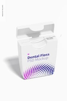 Maquette de fil dentaire