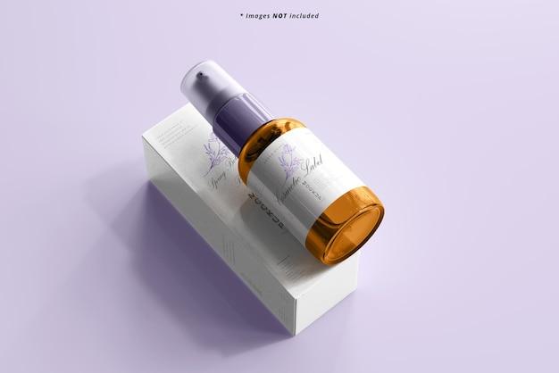 Maquette de flacon pulvérisateur cosmétique