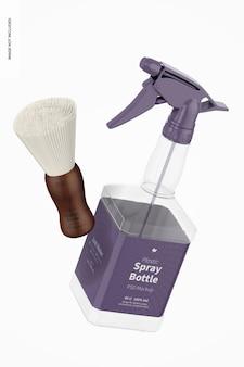 Maquette de flacon pulvérisateur en plastique flottant