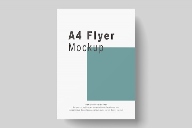Maquette flyer a4 / a5