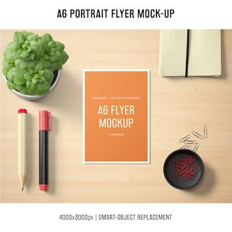 Maquette de flyer a6