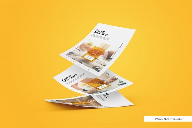 Maquette de flyer créative