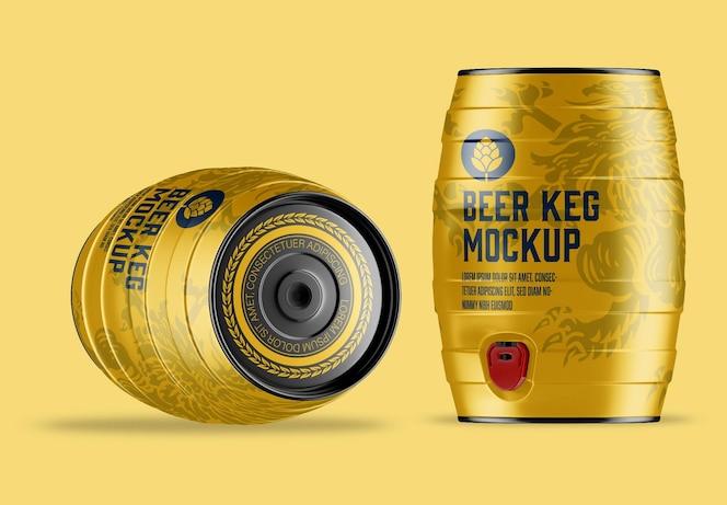 Maquette de fût de bière