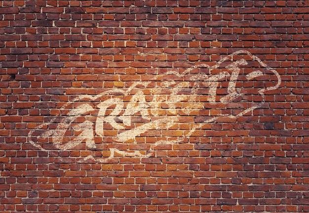 Maquette de graffiti