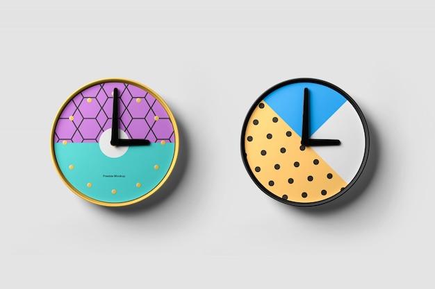 Maquette d'horloges
