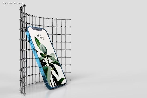 Maquette iphone 12 3d réaliste