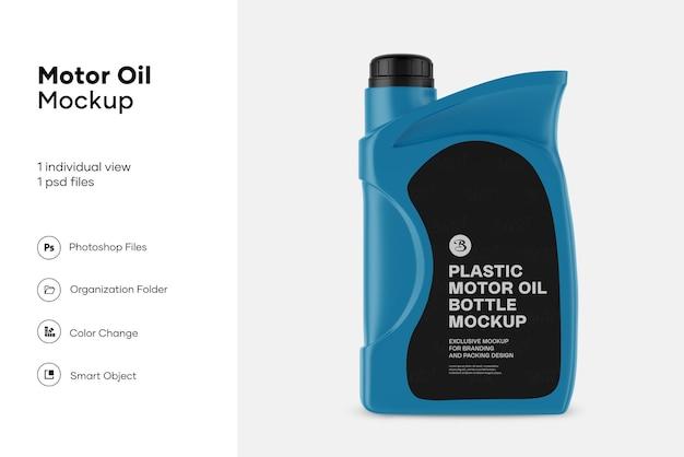 Maquette de jerrycan d'huile moteur en plastique