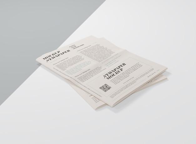 Maquette de journal