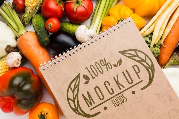 Maquette de légumes cultivés localement