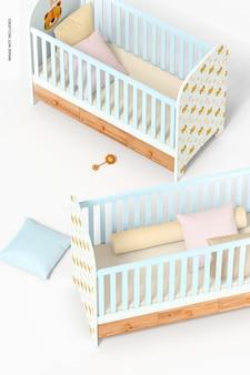 Maquette de lits bébé