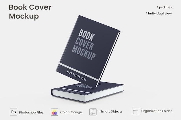 Maquette de livre à couverture rigide