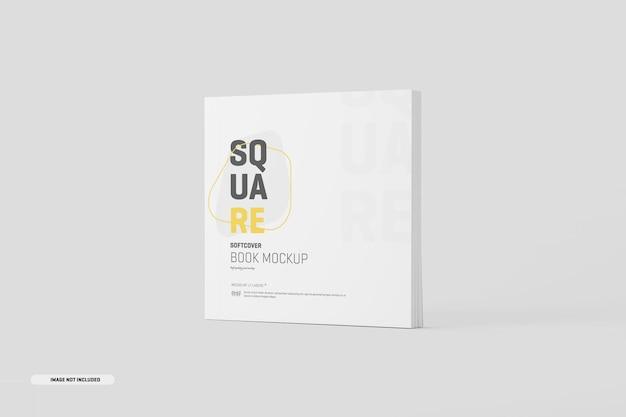 Maquette de livre à couverture souple carrée