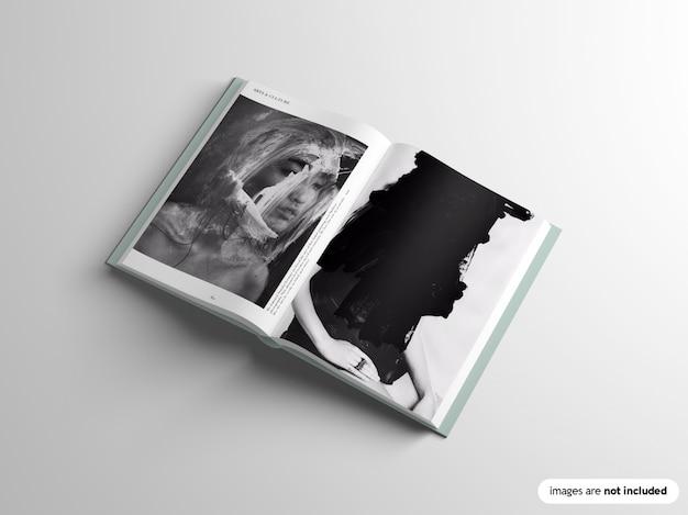 Maquette de livre relié
