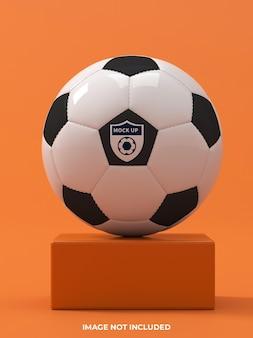 Maquette de logo de balle