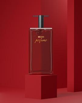Maquette De Logo De Bouteille De Parfum PSD Premium