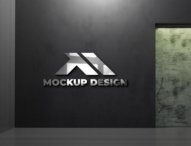 Maquette de logo intérieur