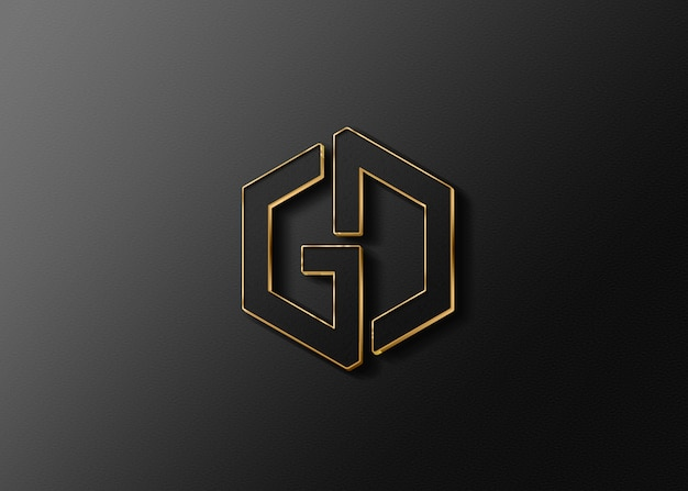 Maquette de logo de logiciel de conception graphique
