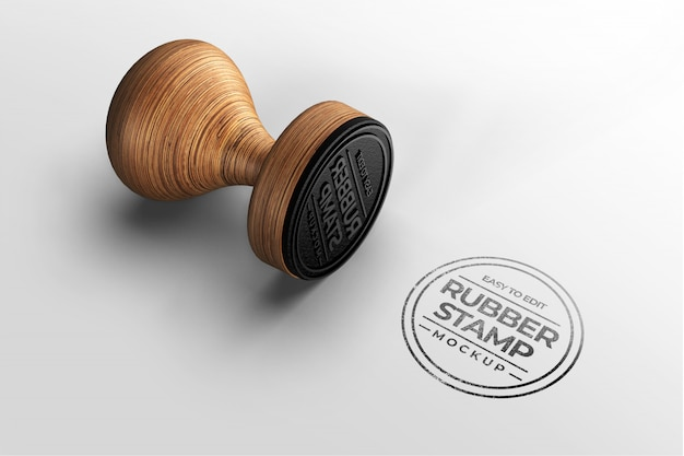 Maquette de logo de timbre