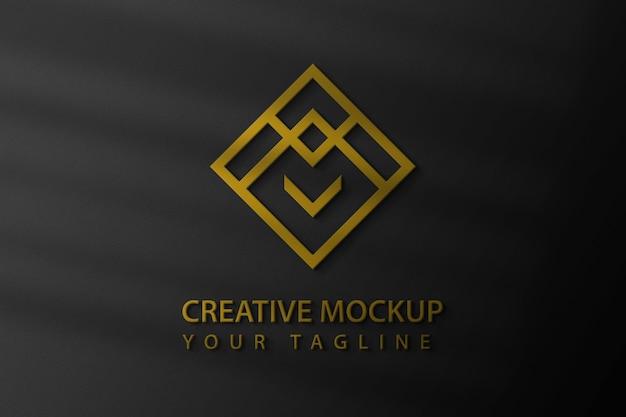 Maquette De Logo PSD Premium