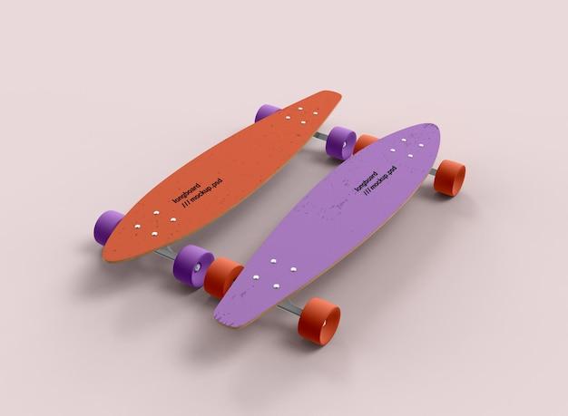 Maquette de longboard