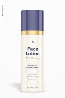 Maquette de lotion pour le visage