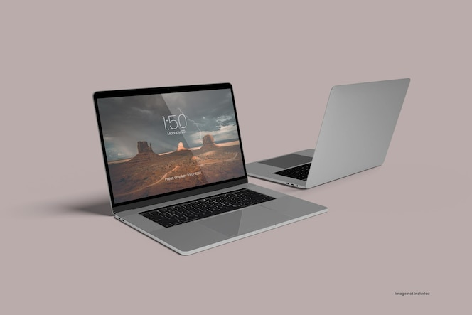 Maquette macbook pro