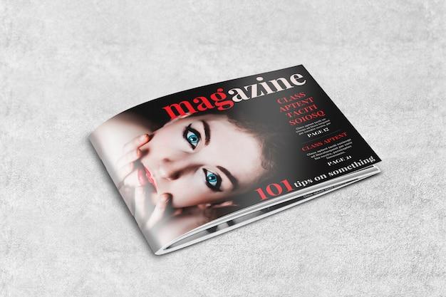 Maquette de magazine ou de brochure landscape