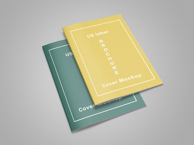 Maquette de magazine / brochure us letter