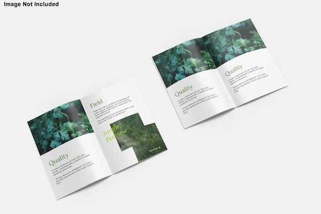 Maquette de magazine de brochure