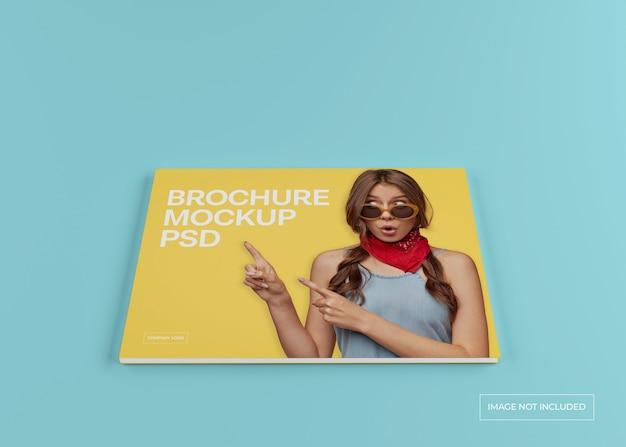 Maquette De Magazine Large, Catalogue De Brochures Et Couverture De Dépliant PSD Premium
