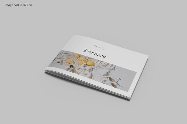 Maquette de magazine de paysage a4