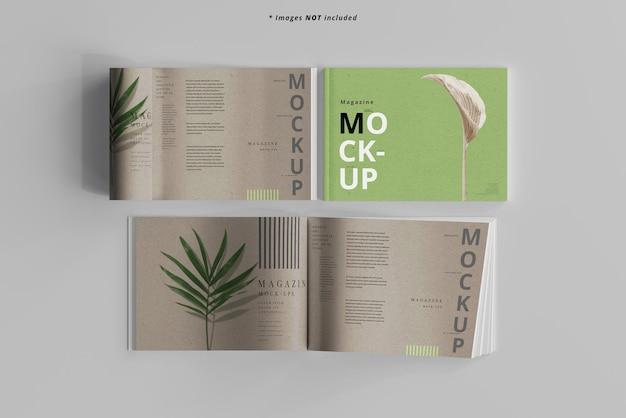 Maquette de magazines de paysage