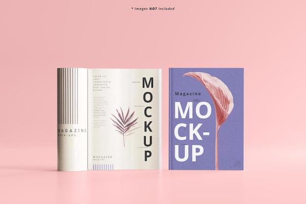 Maquette de magazines