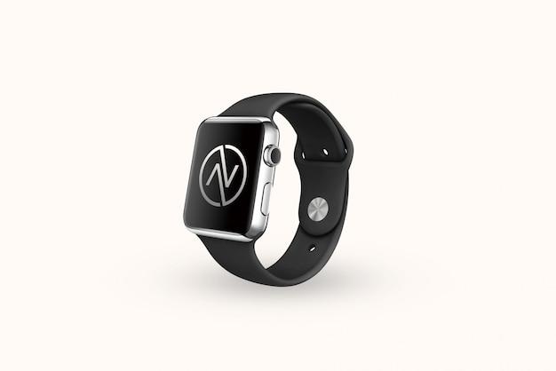 Maquette de marque du logo iwatch