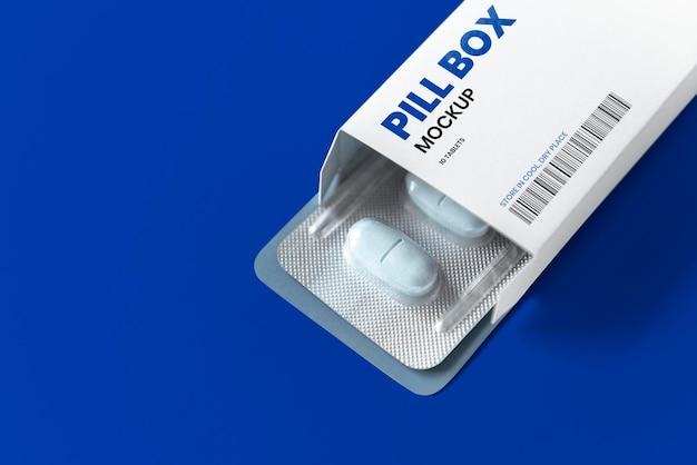 Maquette de marque et d'emballage de médicaments