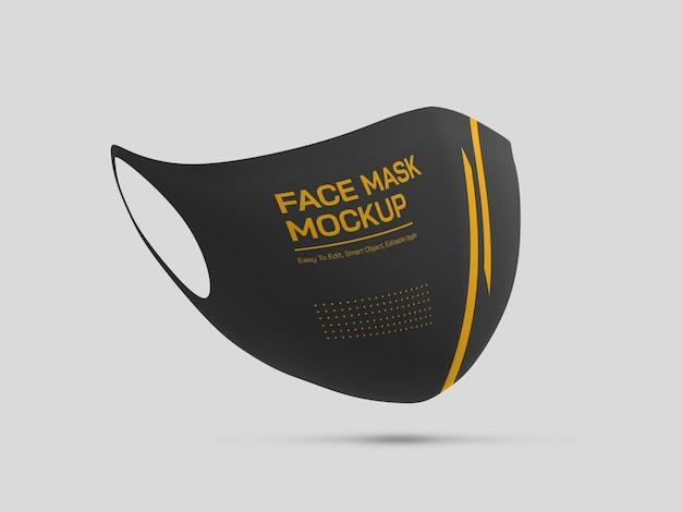 Maquette de masque facial