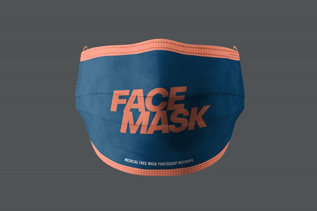 Maquette de masque médical