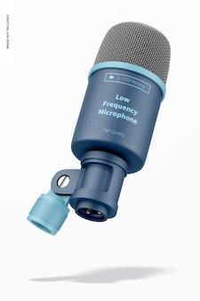 Maquette de microphone basse fréquence, flottant