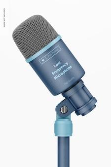 Maquette de microphone basse fréquence