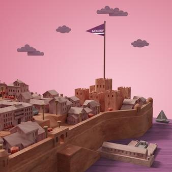 Maquette miniature des villes