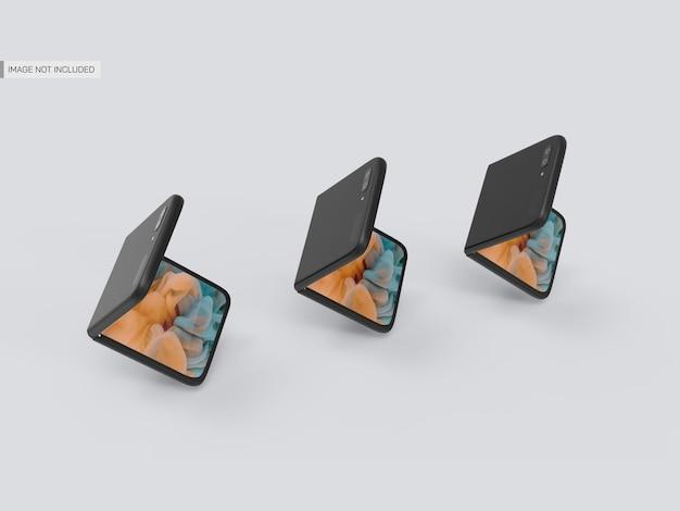 Maquette mobile galaxy flip