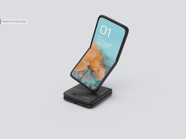 Maquette de mobiles flip